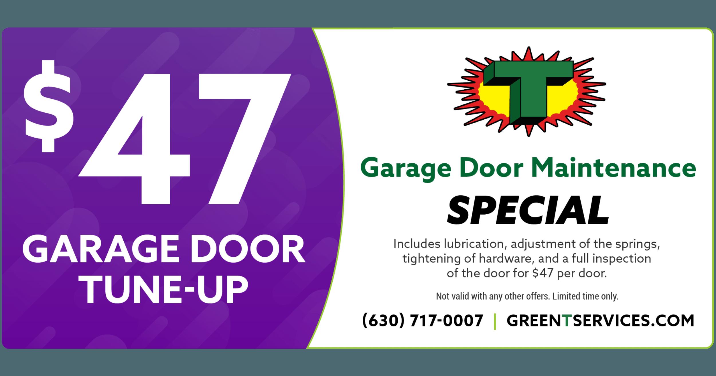 Garage Door Maintenance coupon